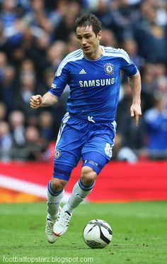 Frank Lampard 2012 my bfs favorite player on his favorite team in his favorite sport