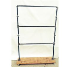 Industrial Retail Display--Three Bar Rack--Perfect for Children's Clothing or Swimsuits