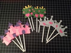 Princess Cupcake Toppers  cake decorations party