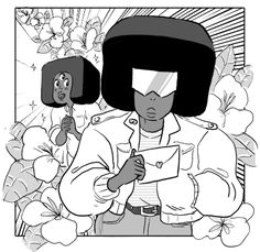 neo-rama:  wwooOOOOooo! GARNET has had her eyes on GARNET for a long time. she finally builds up the courage to send her a LOVE LETTER confessing all her true feelings. but how does GARNET feel about this? isn't GARNET already seeing someone else? does GARNET even notice GARNET?! LOVE LETTERS! the next cute episode of STEVEN UNIVERSE! boareded by HELLEN JO and LAMAR ABRAMS!  Promo by Lamar!!!