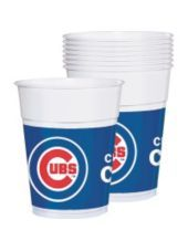 Chicago Cubs Party Cups 25ct - MLB Teams - Sports Theme Party - Theme Parties - Categories - Party City