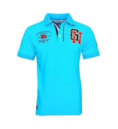 Geographical Norway Polo Polo Shirt kantik SS Men 100 Turquoise JMS s17-gnp1