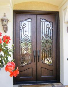 Contact Us For Your Beautiful Custom Wrought Iron Door That Will Enhance  The Aesthetics Of Your