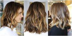 Resultado de imagem para cortes de cabelo feminino ondulado até o ombro