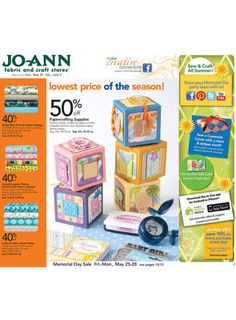 Joann is one of the most popular fabric and craft stores in the United States of America that also offers savings with Joann Fabrics Coupons.