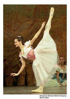 Ildikó Boros in La Fille Mal Gardée Hungarian National Ballet