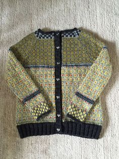 Ravelry: Project Gallery for Wiolakofta pattern by Kristin Wiola Ødegård Fair Isle Knitting, Baby Knitting, Womens Linen Clothing, Cotton Sweater, Wool Sweaters, Fair Isles, Types Of Sleeves, Mantel, Knitwear