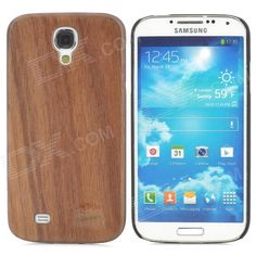 Brand: Goodlen; Model: M-S402; Quantity: 1 Piece; Color: Brown; Material: Walnut; Compatible Models: Samsung Galaxy S4 i9500; Other Features: Protects your S4 from scratches, dust, shock and abrasion; Precise design allows to access to all the interfaces and controls easily; Packing List: 1 x Protective case; http://j.mp/1lknf5O