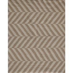 Jaipur Flat Weave Rug - Beige & Antique White - not the right weave, but this is one case where I like stripes