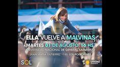 Cristina Kirchner en Malvinas Argentinas #LaVozdelaMayoria