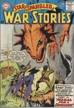 Star Spangled War Stories #117, october 1964, cover by Joe Kubert.
