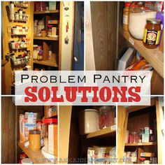 Problem Pantry Solutions {Pantry Organization Tips}