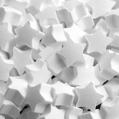 Star shaped mint sweets sold in bags, approximately 725 sweets. A great alternative to chocolates for your favours. All White, Pure White, Snow White, Aesthetic Colors, White Aesthetic, Paramore, Star Wars, Twinkle Twinkle Little Star, Shades Of White