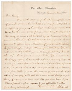 This Civil War condolence letter for General Paul Semmes was