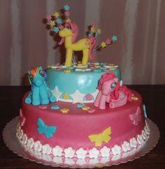 My Little Pony cake My Little Pony Cake, Birthday Cake, Cakes, Desserts, Food, Tailgate Desserts, Deserts, Cake Makers, Birthday Cakes