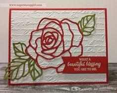 Rose Wonder Thinlit #stampinup