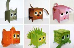 A nice site  full of easy-to-build paper toys!  Perfect for kids!   Um site bem legal , repleto de  paper toys fáceis de montar!  Perfeito...