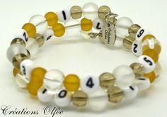 Bracelet d'allaitement OLFÉE  Teintes de blanc par CreationsOlfee, $20.00