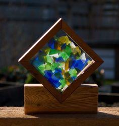 Suncatcher Freestanding Windowsill Kaleidoscope Sun Catcher