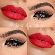 Love the lipstick!