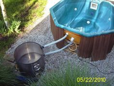 wood fired hot tub heater (wood burning stoves forum at permies)
