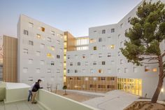 Résidence Universitaire Lucien Cornil | A+A Architecture #residence #university