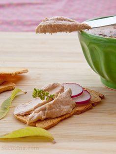 Receta de paté de salmón   Cantabria   Spain