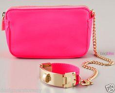 CC-Skye-VICTORIA-WRISTLET-bag-clutch-in-Neon-Pink