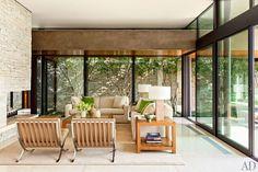 Great Room : Marmol Radziner Designs a Modernist Beverly Hills House : Architectural Digest