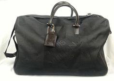 100% Authentic LOUIS VUITTON Duffle Bag Canvas With Leather Detail Travel #LouisVuitton