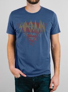 Superman Tee from Junk Food Clothing