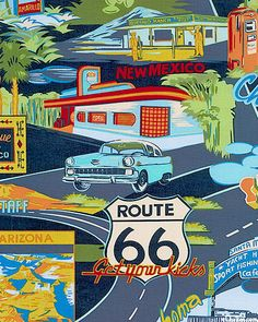 We're heading to the Grand Canyon with a few stops on historic Route 66. #NoviStars