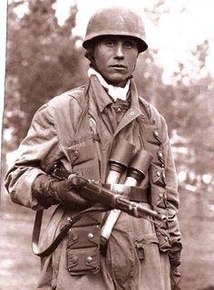 German paratrooper.