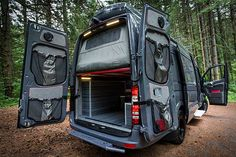 Outside Van\'s 4x4 Adventure Mobile Is An Off-Road Mammoth