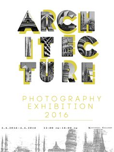 Poster for photography exhibition