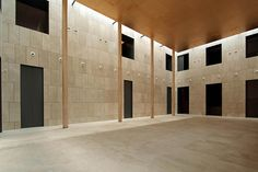 Rehabilitation of the Madrid History Museum / Frade Arquitectos
