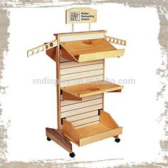 Wooden_Trays_Display_Racks_With_Wheels_For.jpg (750×750)