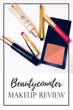 Beautycounter makeup review #makeup #beauty #beautyblogger #beautycounter #greenbeauty