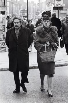 Frank Habicht. King's Road London. 1967.