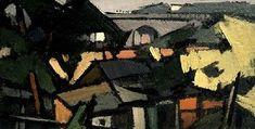 Paysage au Viaduc 1919 - 1924 -Frédéric FIEBIG
