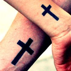 Christian Cross Tattoos For Men On Forearm