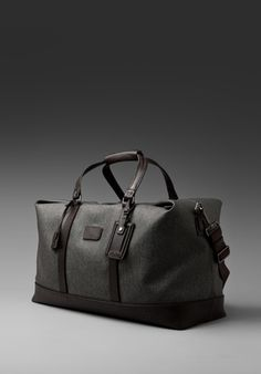 Bedford Westley Weekender Bag by TUMI. Looking forward to the weekend!