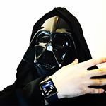 My Force controls the drone! Do you like it?? #force #control #drone #starwars #darthvader #yoda #jedi #applewatch #parrotdrone #jumpingnight #jumpingsumo #robot #robotics #code #coding #watchos #watchos2 #watchkit #objectivec #swift #xcode #programmer #iphone #apple #mac #osx #sourcecode #robot #robotics #cosplay #technology