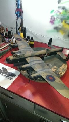 Tamiya Avro Lancaster, modeller Arron Parry (that's me) Airfix Models, Lego Ww2, Ship In Bottle, Lancaster Bomber, Modeling Techniques, Model Hobbies, Military Modelling, Ww2 Planes, Ww2 Aircraft