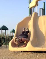Easy workout to do at the park with the kids!