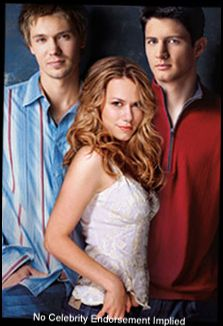 Lucas, Haley and Nathan -One Tree Hill