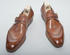 Dandy Shoe Care — saintcrispins: Saint Crispin's mod. U-cap. Sock Shoes, Shoe Boots, Saint Crispin, Fashion Shoes, Mens Fashion, Monk Strap Shoes, Dream Shoes, Derby, Men S Shoes