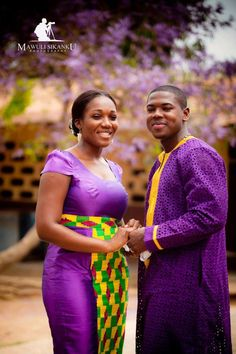 African weddings are the best! African Attire, African Wear, African Women, African Dress, African Style, African Beauty, Ghanaian Fashion, African Fashion, Nigerian Fashion
