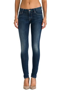 #REVOLVEclothing; THE LOOKER SKINNY JEANS BY MOTHER $196.00; FINALLY got these on ebay SALE the fit is awesome!