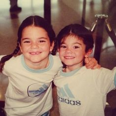 Pin for Later: The Best Throwback Snaps Stars Shared in 2014 Kendall and Kylie Jenner Source: Instagram user krisjenner